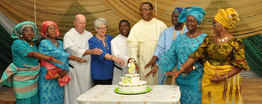 Cutting of the Feast Day Cake
