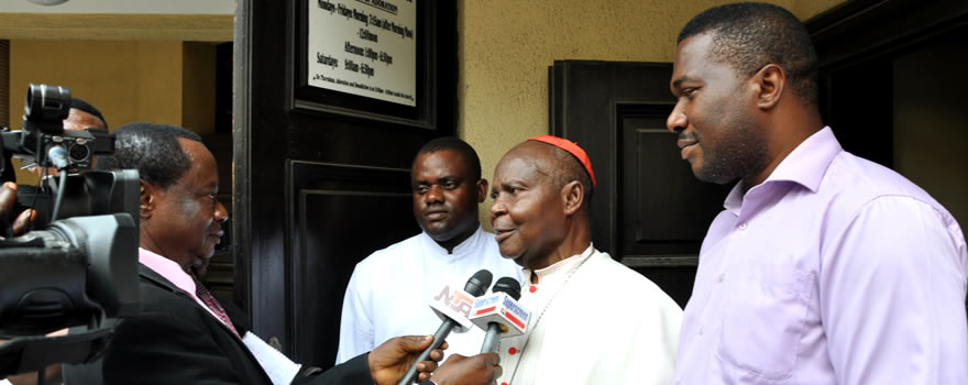 Send Forth: His Eminence Anthony Cardinal Okogie speaks about the great contributions of Brother Stephen in the Archdiocese of Lagos