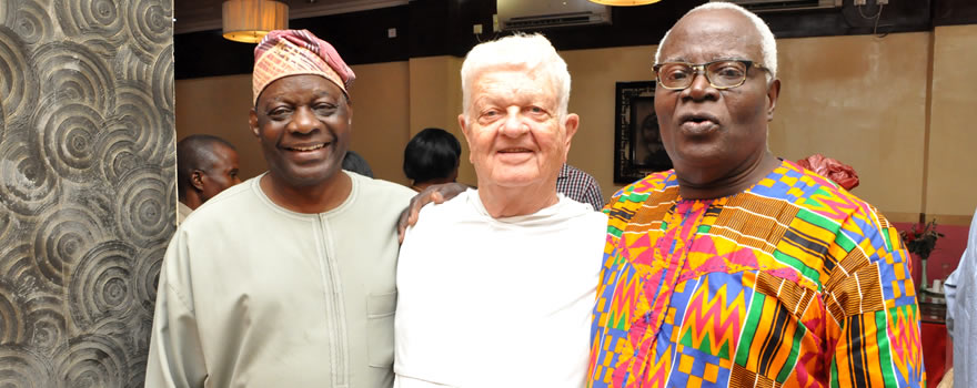 Send Forth Lunch: Dr. Adeyemi, Bro. Stephen OP and Mr. Shobande